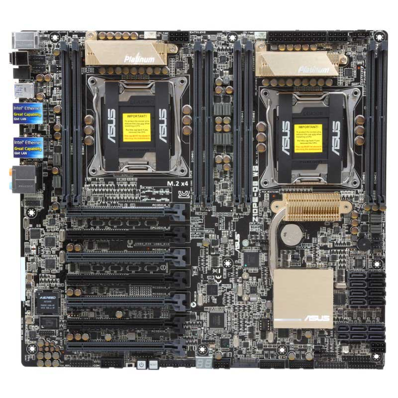 Bo Mạch Chủ ASUS Z10PE-D8WS - Dual Xeon Workstation Mainboard 2011v3v4