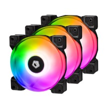 Fan Case ID-Cooling DF-12025 ARGB TRIO RGB Pack 3 fan
