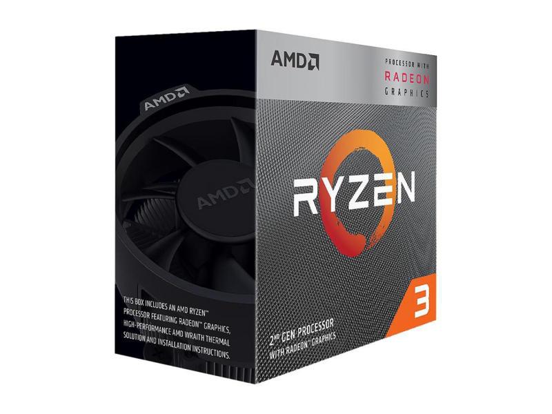 CPU AMD Ryzen 3 3200G /6MB /3.6GHz /4 nhân 4 luồng