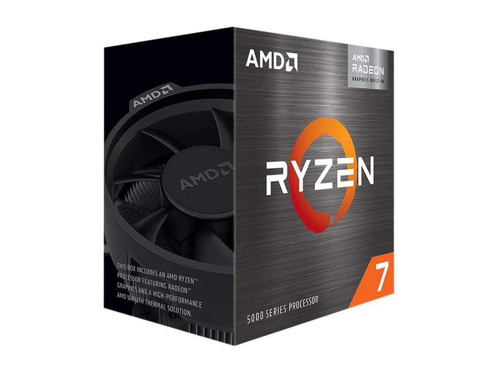 CPU AMD Ryzen 7 5700G (3.8GHz Upto 4.6GHz / 20MB / 8 Cores, 16 Threads / 65W / Socket AM4)