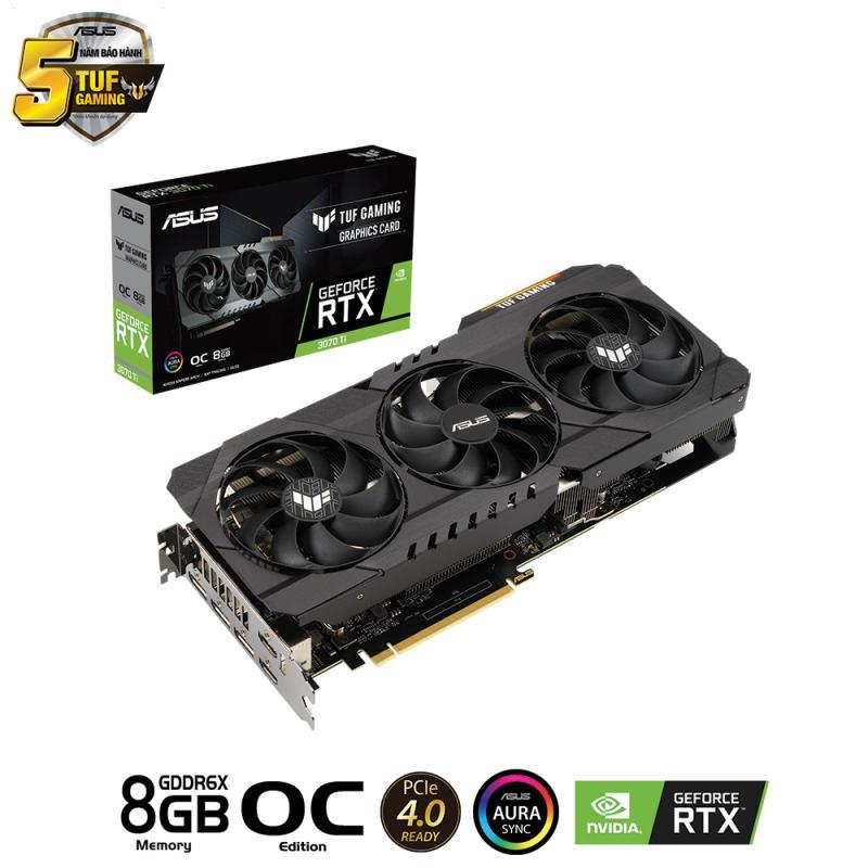 VGA ASUS RTX 3070TI 8GB TUF GAMING OC VERSION