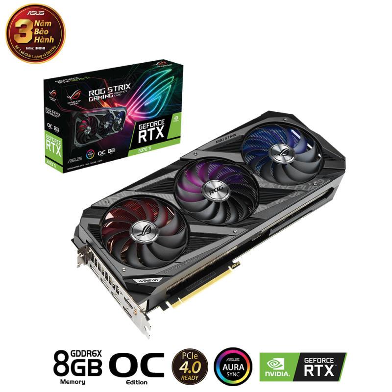 VGA ASUS RTX 3070TI 8GB STRIX GAMING OC VERSION