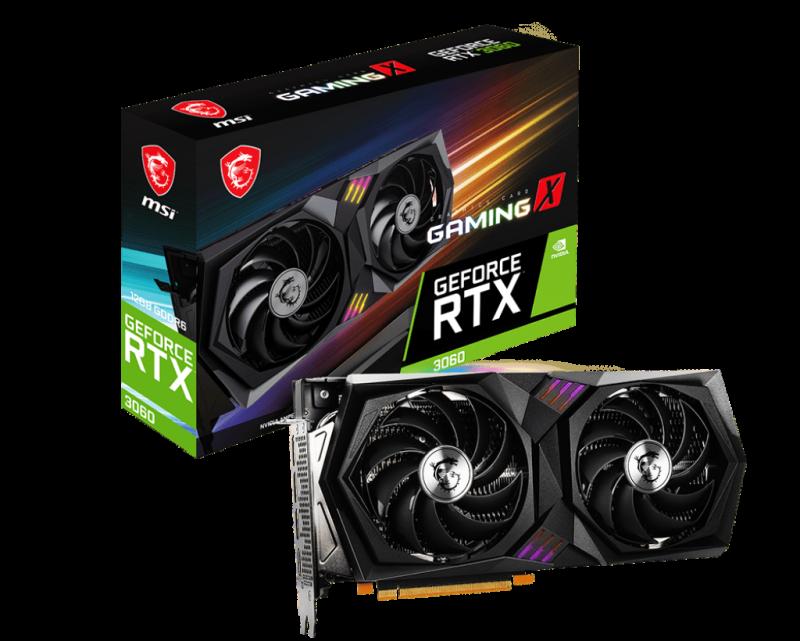 Card đồ họa MSI GeForce RTX 3060 GAMING X 12G