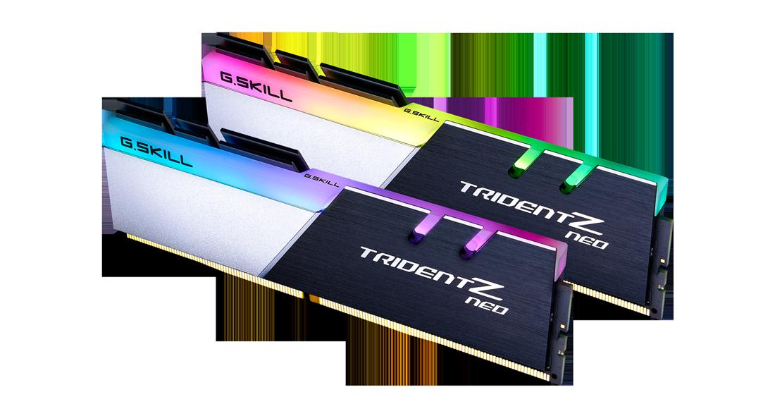 RAM GSKILL TRIDENTZ NEO RGB 32GB(2X16GB) 3600MHZ CAS 18