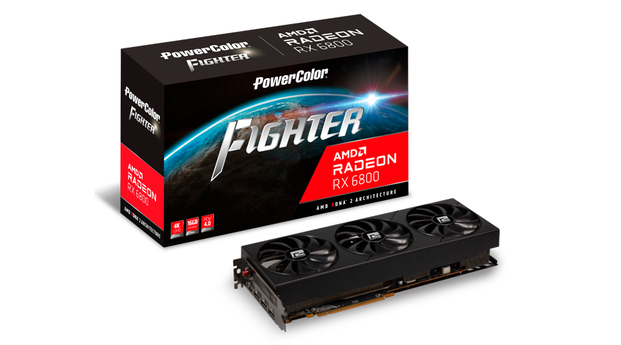 Card đồ hoạ VGA POWERCOLOR FIGHTER RX 6800 16GB