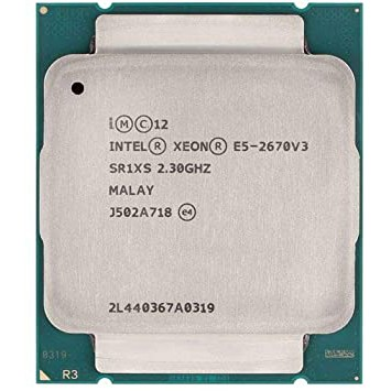 Bộ Vi Xử Lý Intel Xeon E5 2670 v3 / 2.3GHz turbo 3.1GHz / 12 Cores 24 Threads