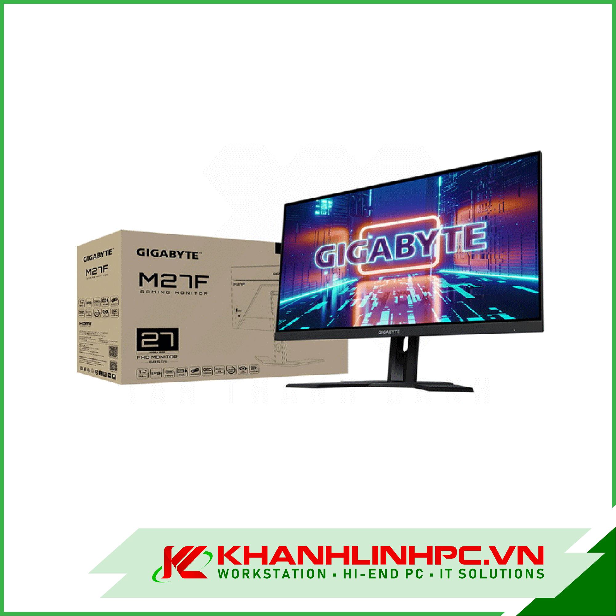 LCD GIGABYTE M27F-EK 27 Inches FHD IPS 144MHZ Chuyên game