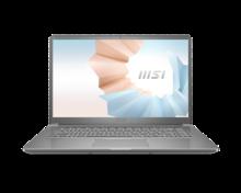 Laptop MSI Modern 15 A11M-099VN Silver