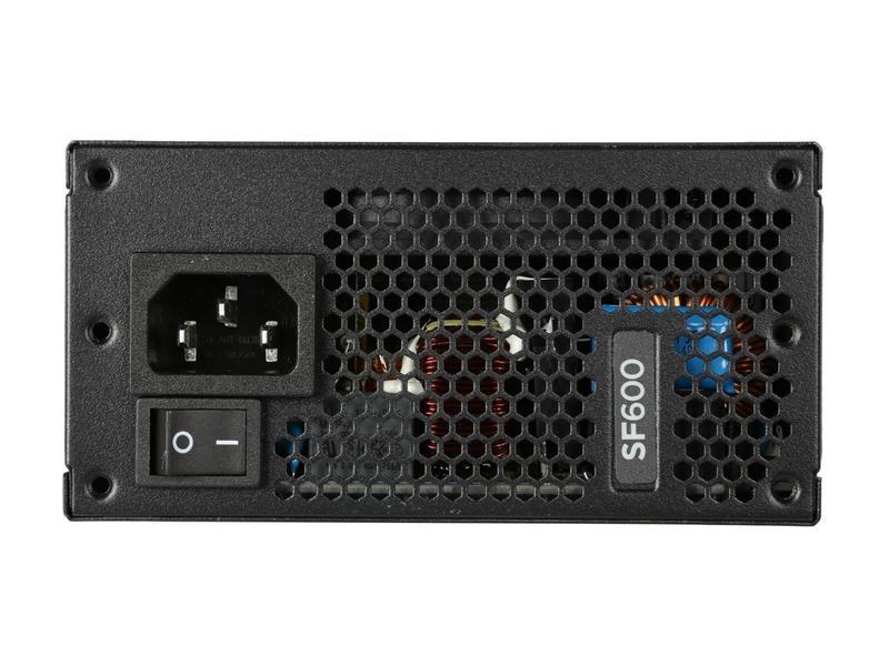 Nguồn máy tính Corsair SF600 Gold 80 Plus Gold - SFX Factor - Full Modul