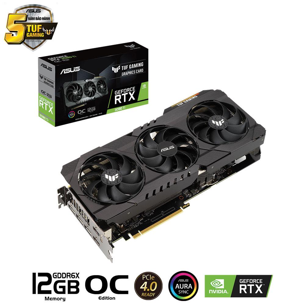 VGA ASUS GEFORCE RTX 3080TI 12GB TUF GAMING OC