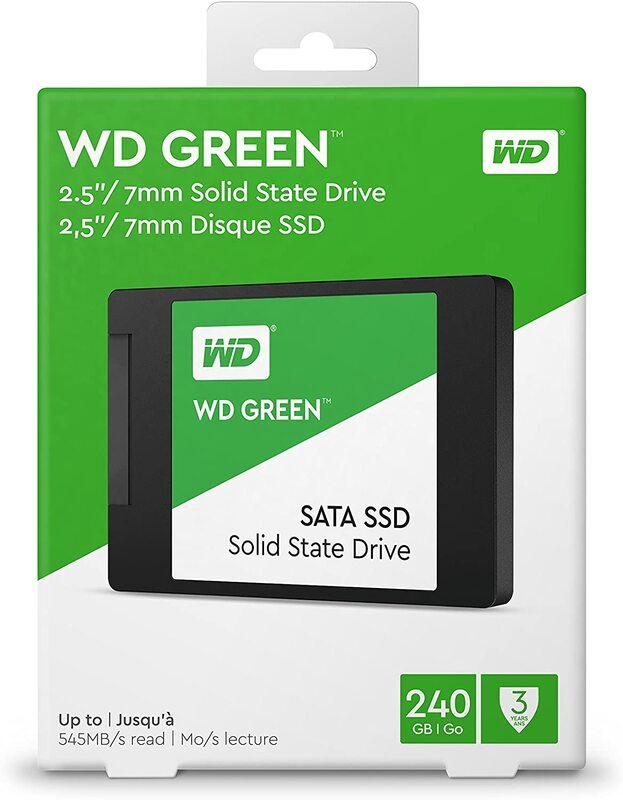 SSD WD GREEN 240GB 2.5 SATA3 SSD